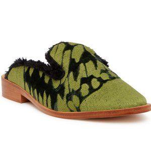 Free People Womens Butterfly Effect Mule Shoes